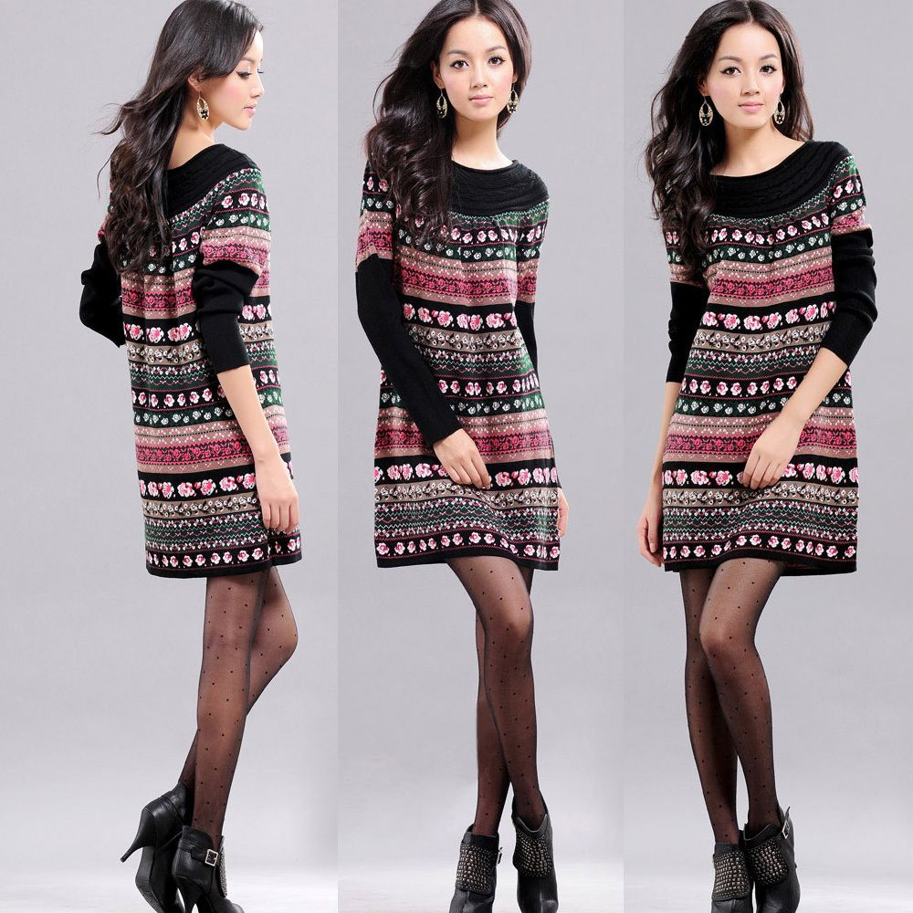 1000  images about Sweater Dresses on Pinterest - Polka dot ...