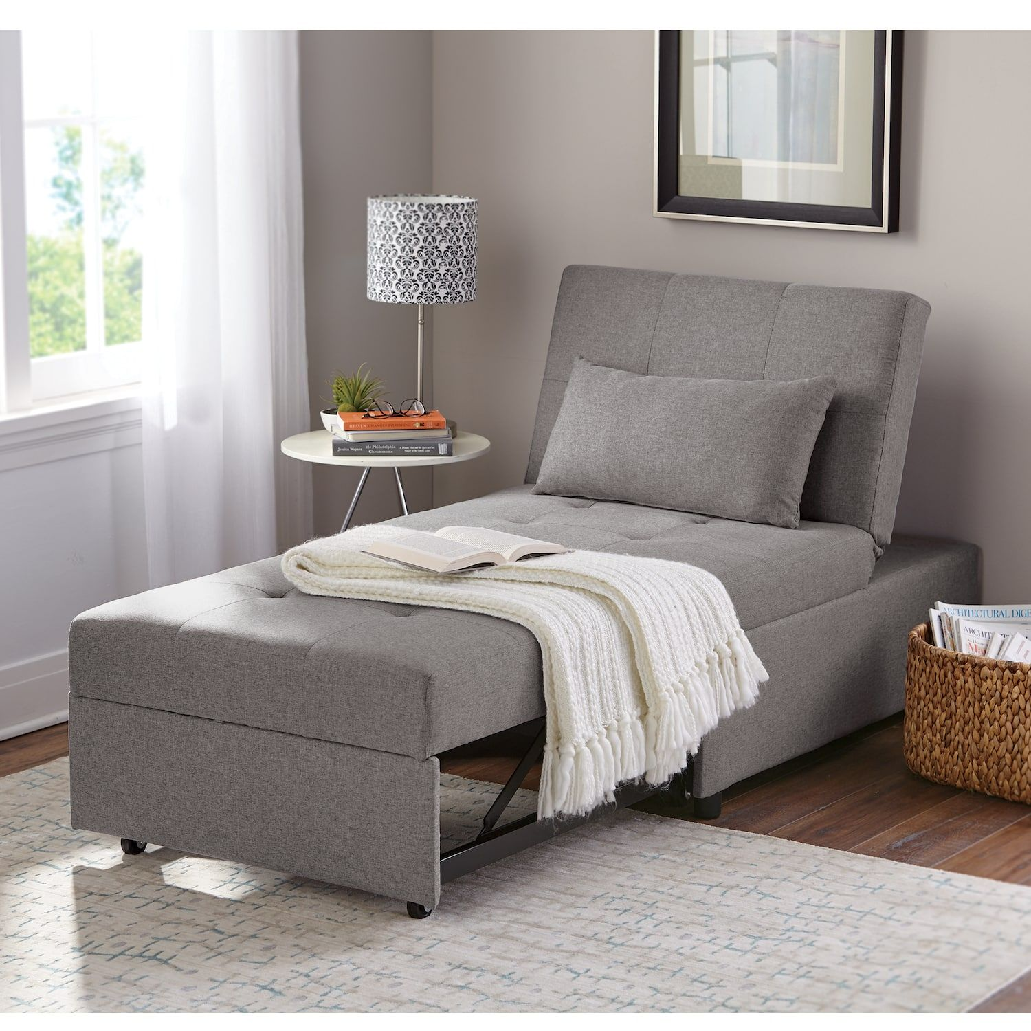 Cali Convertible Chair in 2020 Single sofa bed