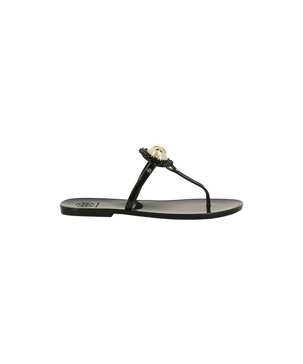 234eda78640e0 TORY BURCH Tory Burch Women S Black Rubber Flip Flops .  toryburch  shoes   sandals