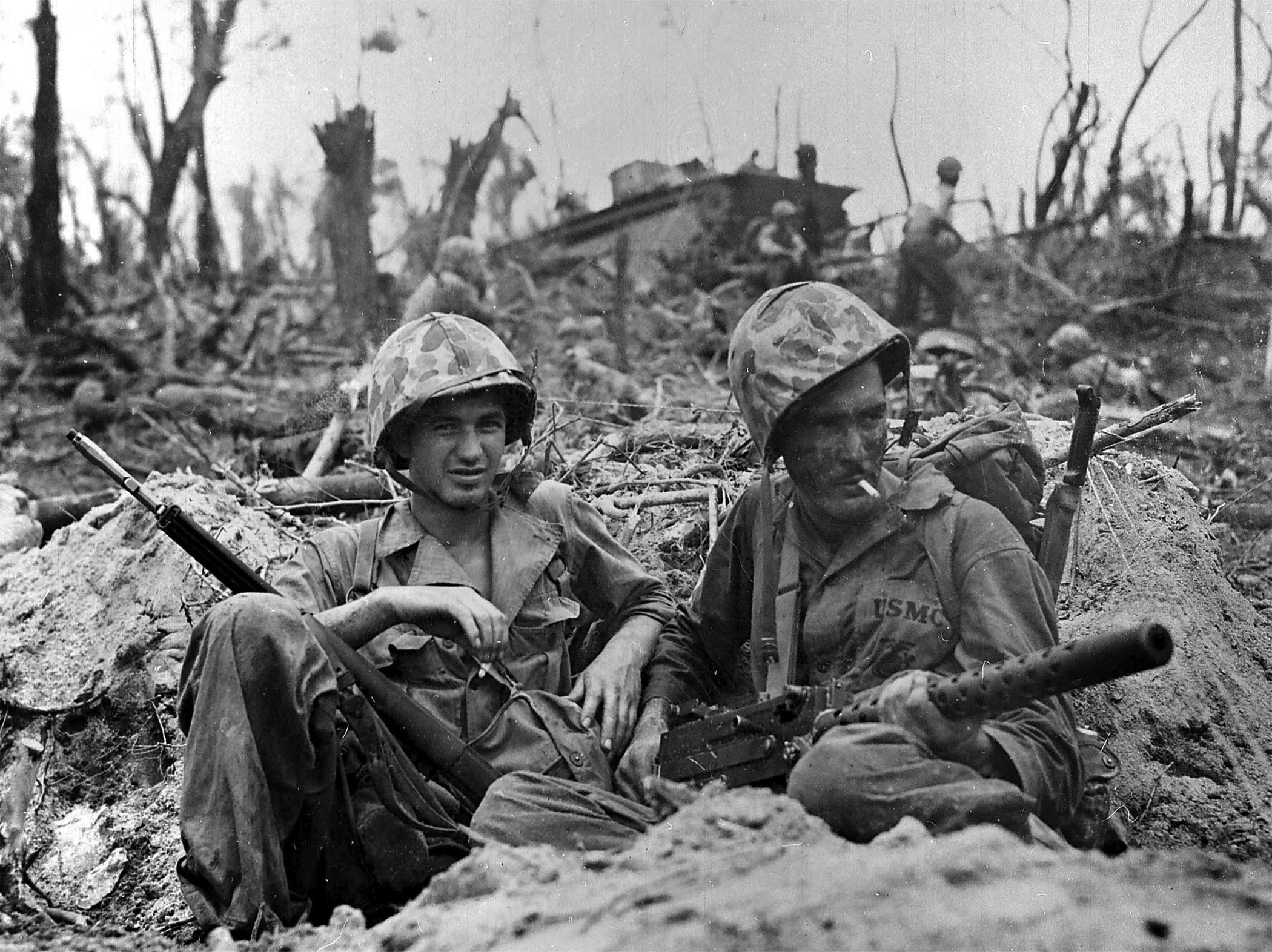 Write an Essay on WWII Vets?