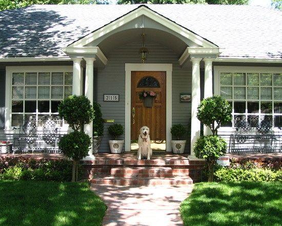 Home Inspiration Portico Design Front Porch Design House Front Porch