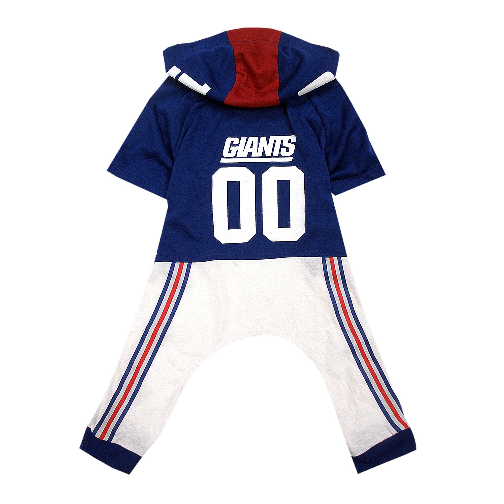 Pets First New York Giants Team Uniform Onesi for Dogs b1b2f9d61
