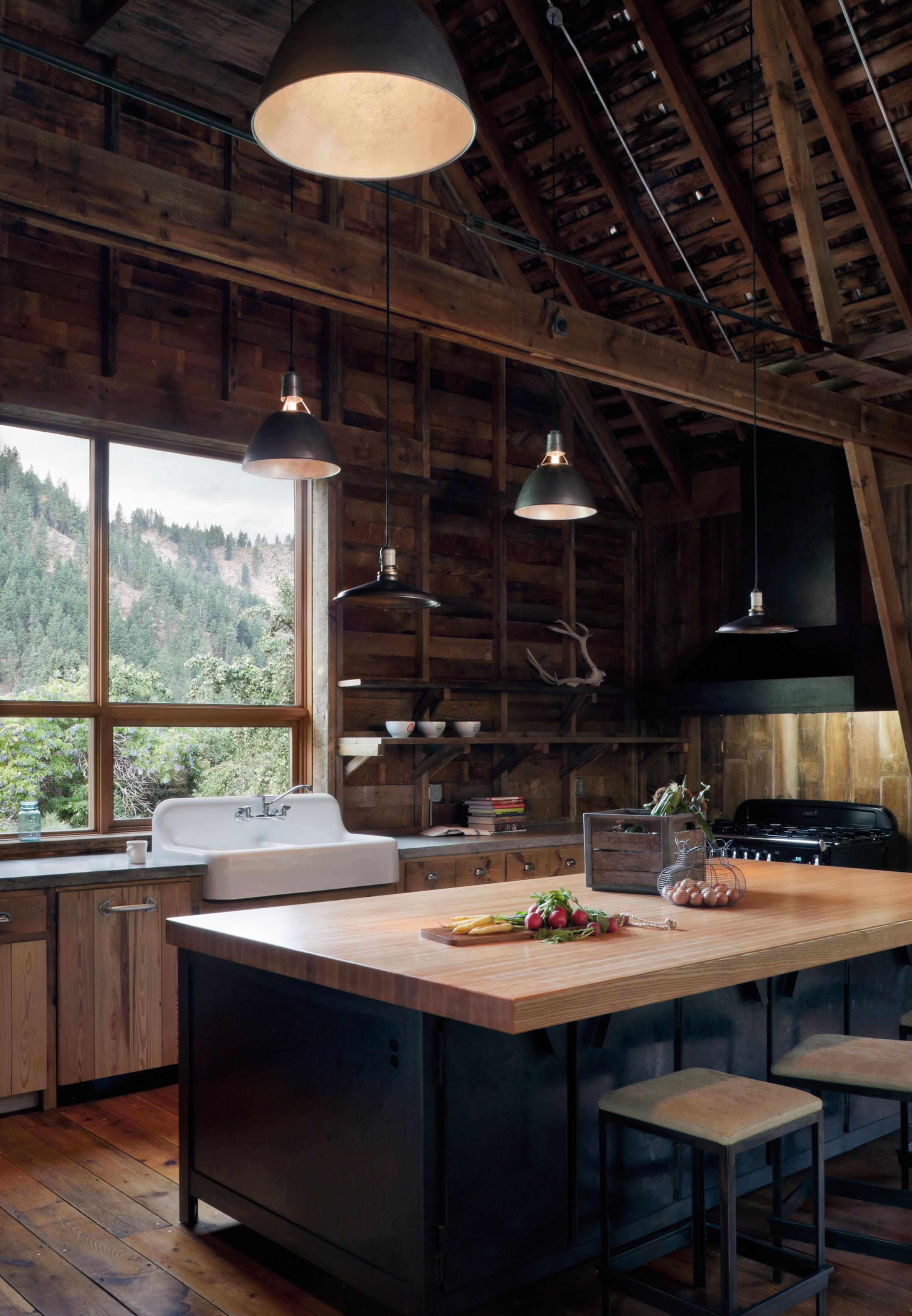 Canyon Barn by MW Works | Our dream home | Pinterest