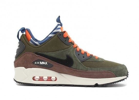 nike air max 90 sneakerboot legion green