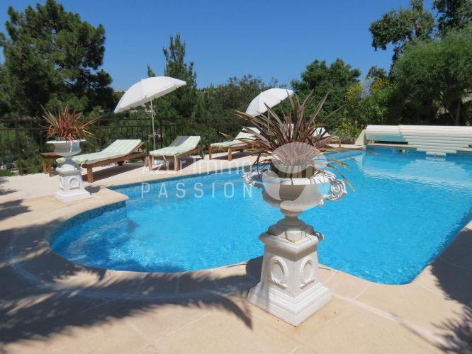 VENTE VILLA PROVENCALE 6 PIECES 140 M2 AVEC PISCINE CAVALAIRE-SUR - location maison avec piscine dans le var