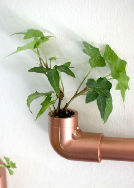 Great use of plastic pipes in home decoration…