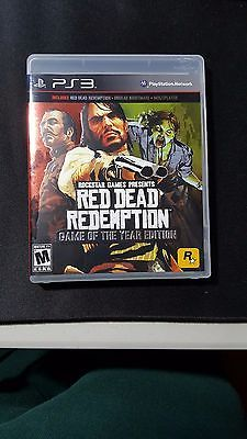 Red Dead Redemption -- Game of the Year Edition (Sony PlayStation 3 2011) https://t.co/WAxRVMHFEk https://t.co/qW8vYum7zT