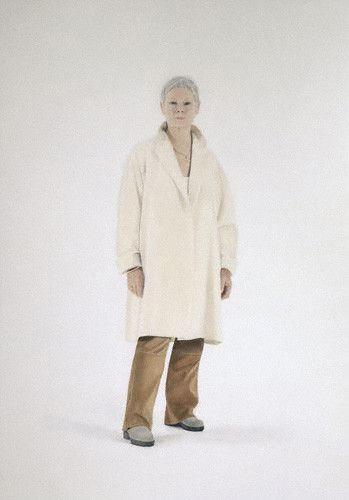 Judi Dench by Alessandro Raho, her shoes!