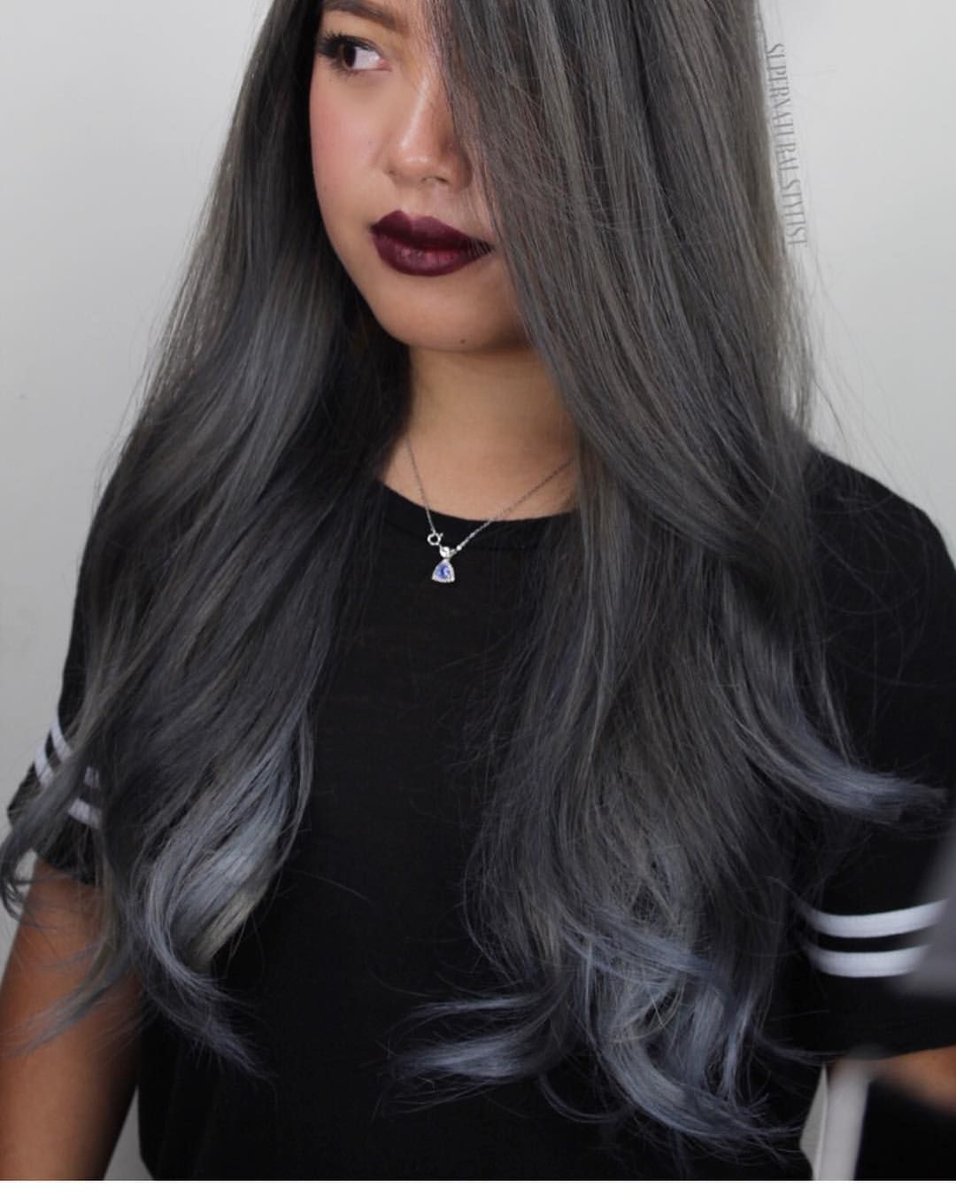 Smoky Witchy Brunette by supernaturalstylist hotonbeauty  steely