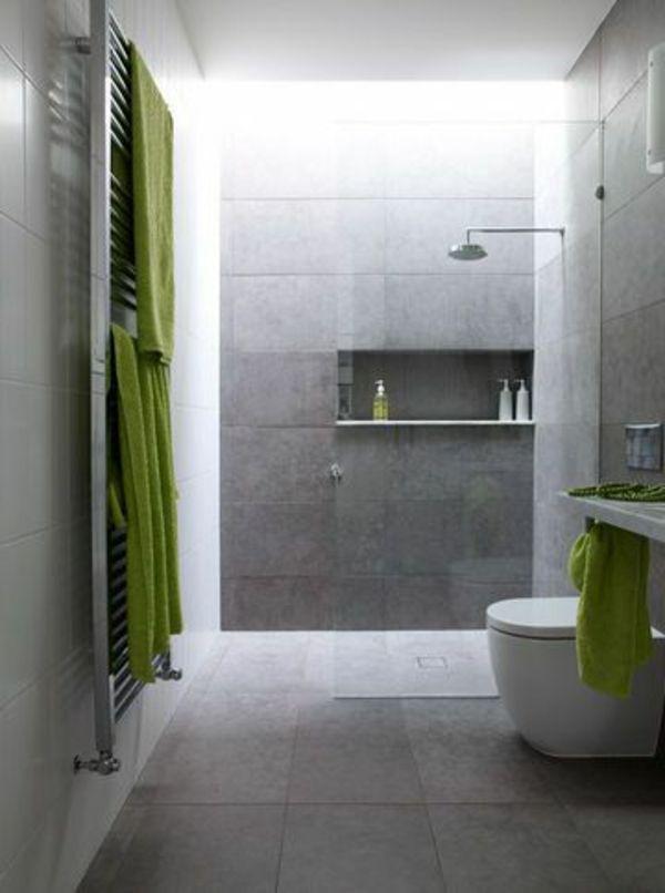 Le receveur de douche extra plat - élégance pour la salle de bains - salle de bain design douche italienne