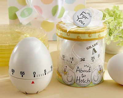 "Lovely 25 PC - ""About to Hatch"" Kitchen Egg Timer in Present Field Child Bathe Favors (KA) - Store Child Merchandise"