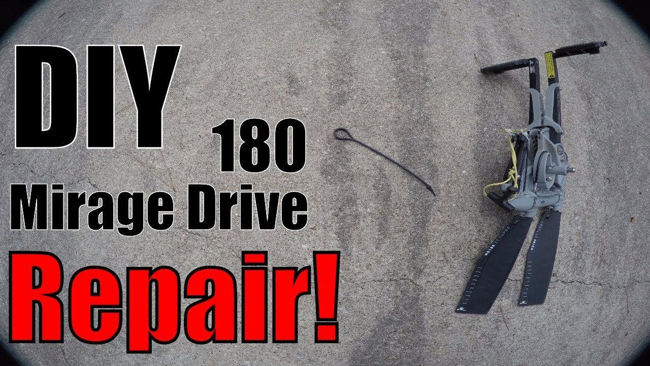 Hobie Mirage Drive 180 Pull Cord DIY FiX!! Hobie mirage