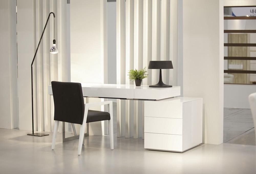 ultra modern office desk. Plain Desk Loft Modern Office Desk SKU18118 For 999 Description  The Loft Desk  Features A Clean Ultra Modern Design Chrome Legs Meet The Rich White Gloss Finish  To Ultra