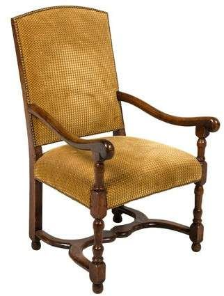 Oak Upholstered Armchair Upholstered Arm Chair Armchair Armchair Furniture