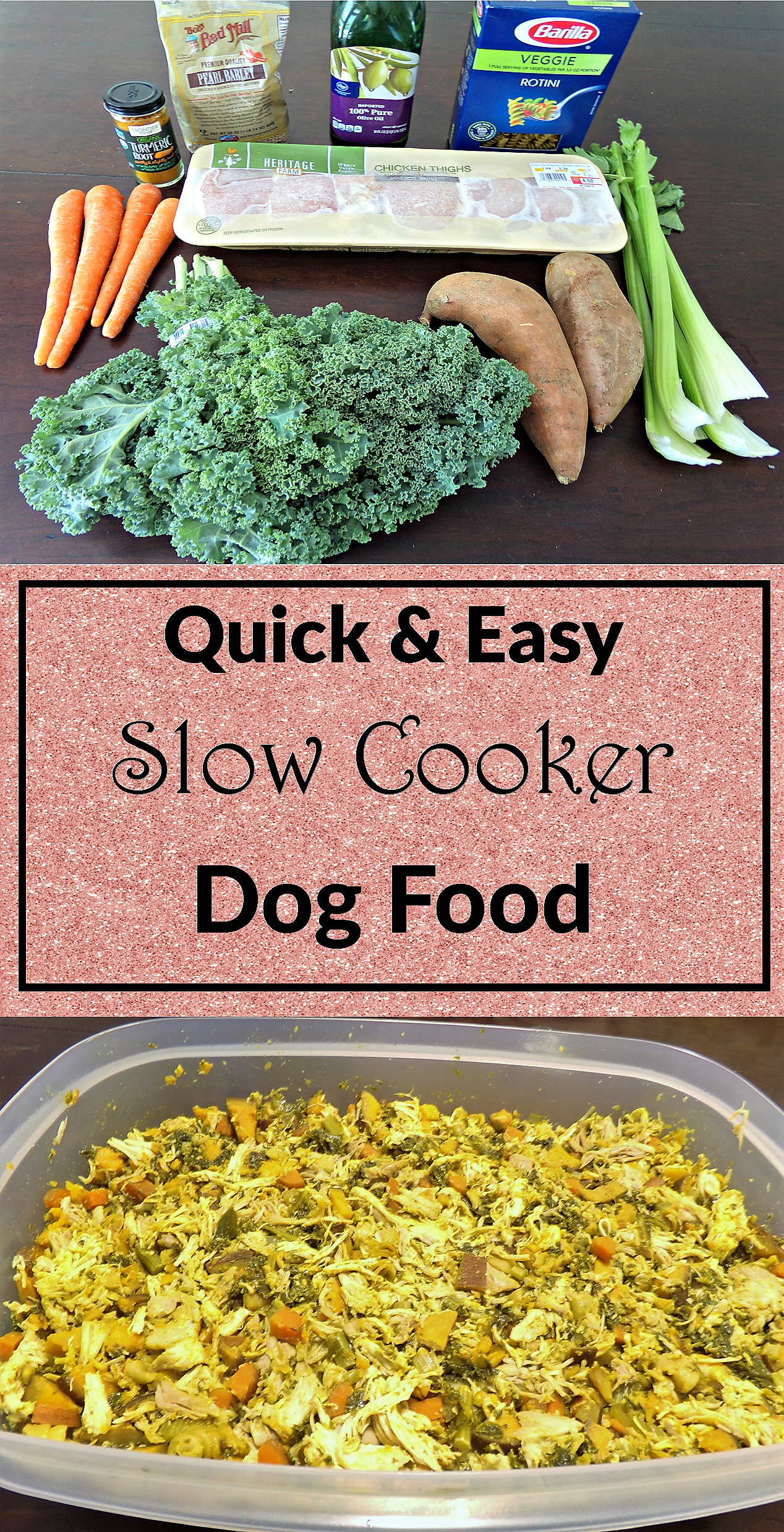 A quick and easy slow cooker dog food recipe crock pot dog food a quick and easy slow cooker dog food recipe crock pot dog food forumfinder Choice Image