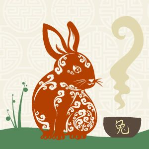 Free 2011 Chinese Horoscopes For The Horse Bunny Art Chinese Astrology Rabbit Art
