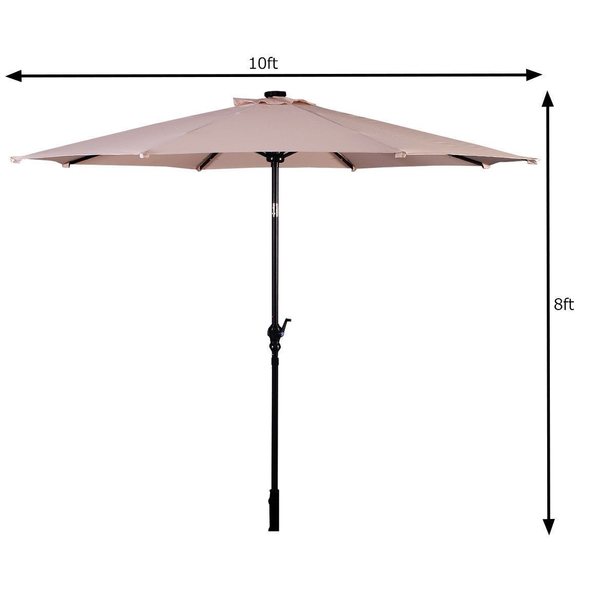 Pin On Patio Solar Umbrella