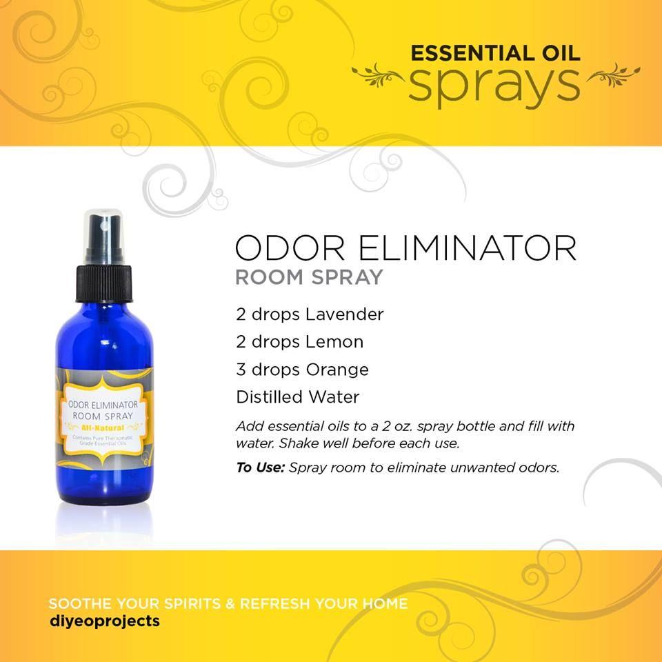 Odor Eliminator Cranberry Grapefruit Citrus Room Spray Body