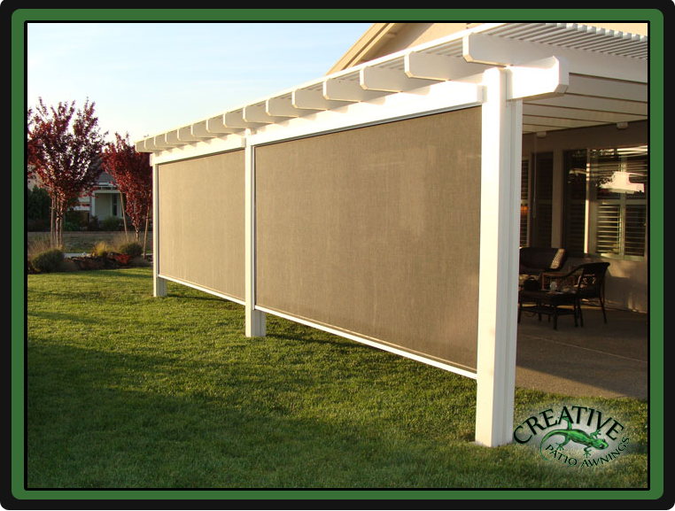 Shades For Patio Covers - Home Design Ideas and Pictures