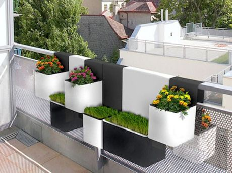 Urban House Design With Beautiful Balcony Interior Balcony Designs . Part 40