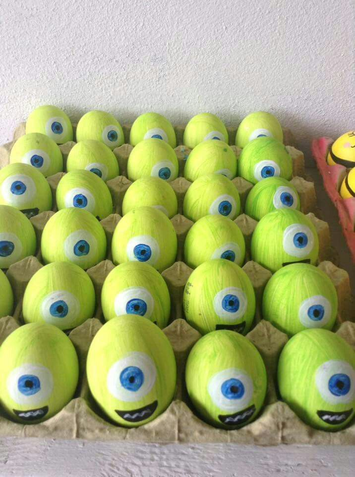 Pin by Diana Bautista on huevitos decorados Pinterest Easter - huevos decorados