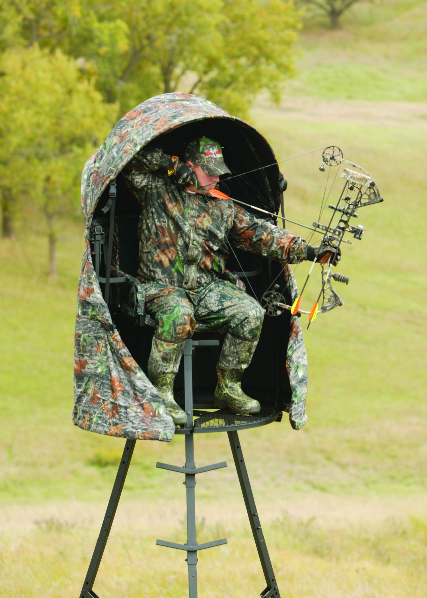 The CoverAll Blind Kit Big Game Tree Stands Hunting stand