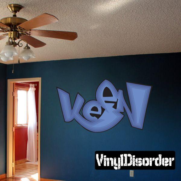 Graffiti wall decal vinyl sticker car sticker die cut sticker dc 120