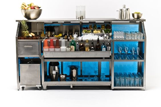 Mobile Bar - Transbar - by Bar Specialists http://bar-specialists.co ...
