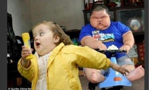 Super fat asian