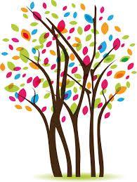 Resultado De Imagen Para Arboles De Colores Dibujos Arboles