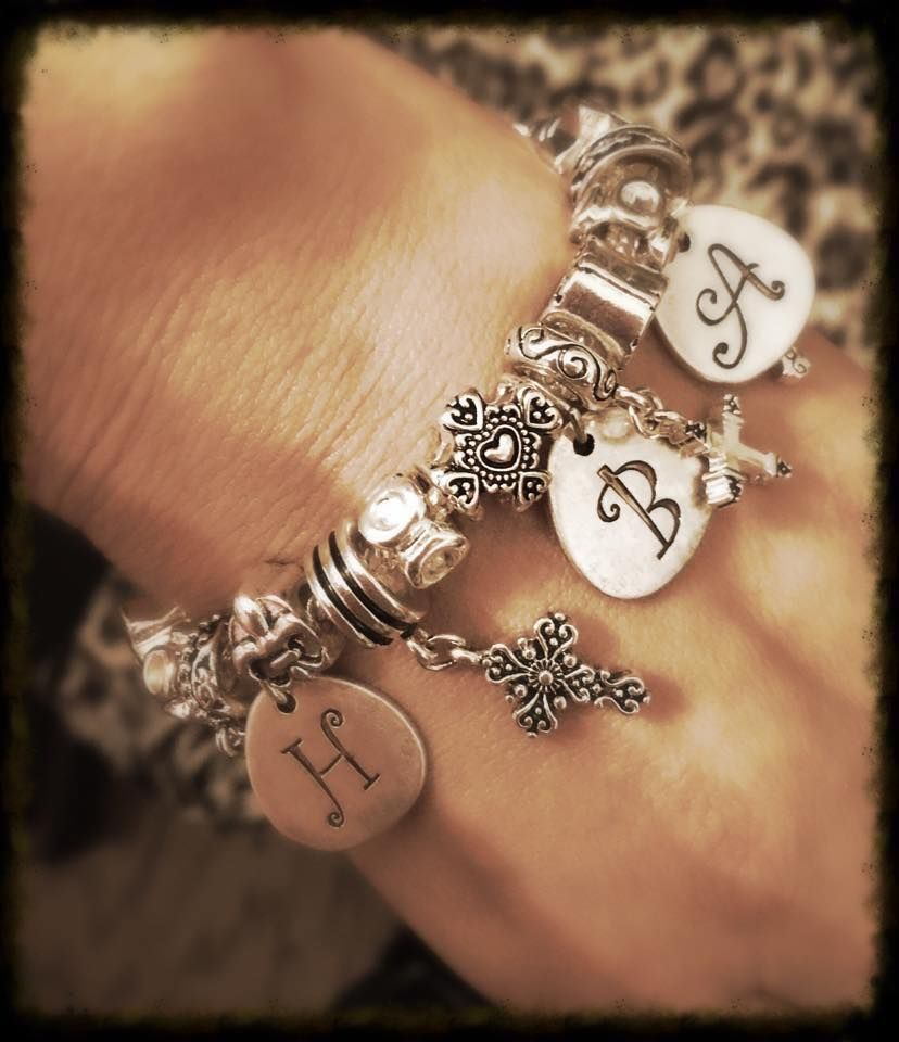 Keeping it personal with a bracelet pdarmparty jewelry love