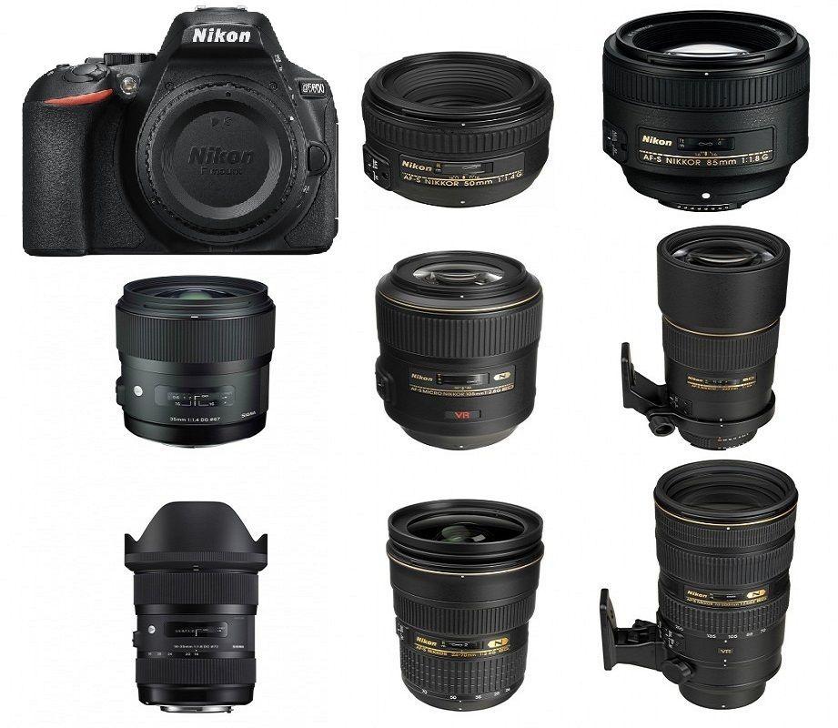 Best Lenses for Nikon D5600 DSLR camera  Looking for