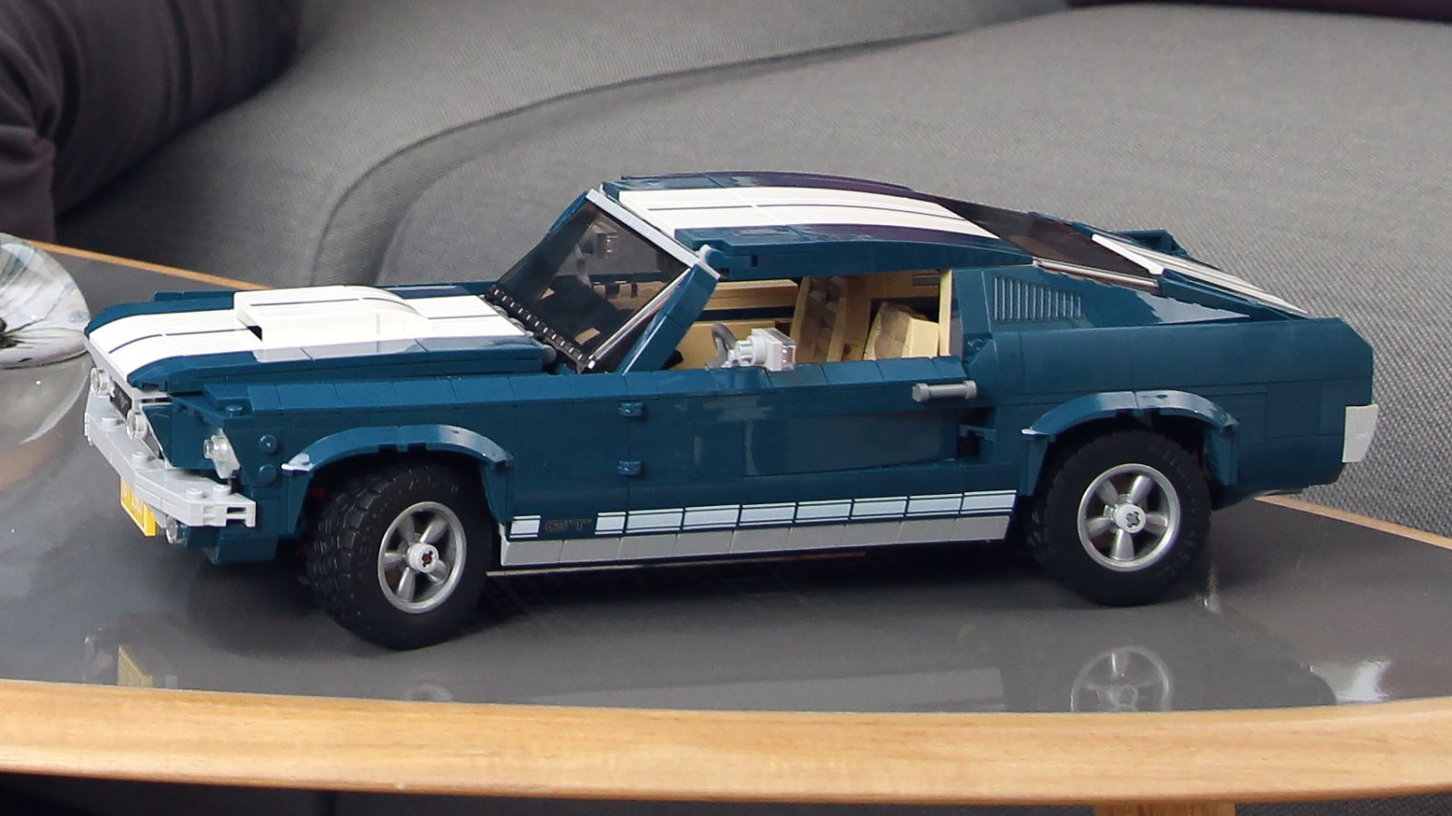 If You Can T Afford A Real 1967 Ford Mustang There S Always This Lego Version In 2020 Ford Mustang Mustang 1968 Ford Mustang Fastback