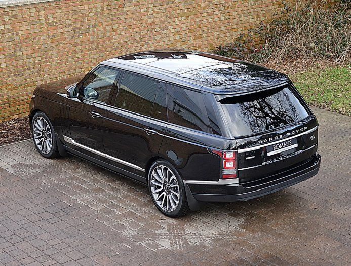 2016 65 range rover 5 0 autobiography lwb for sale santorini black land rover pinterest. Black Bedroom Furniture Sets. Home Design Ideas