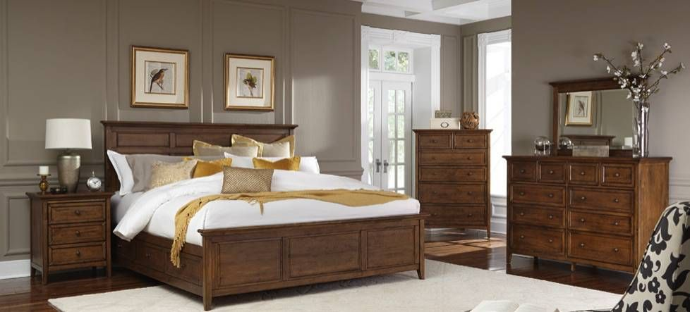 Woodcraft Furniture Our Hudson Bay Bedroom Collection Furniture