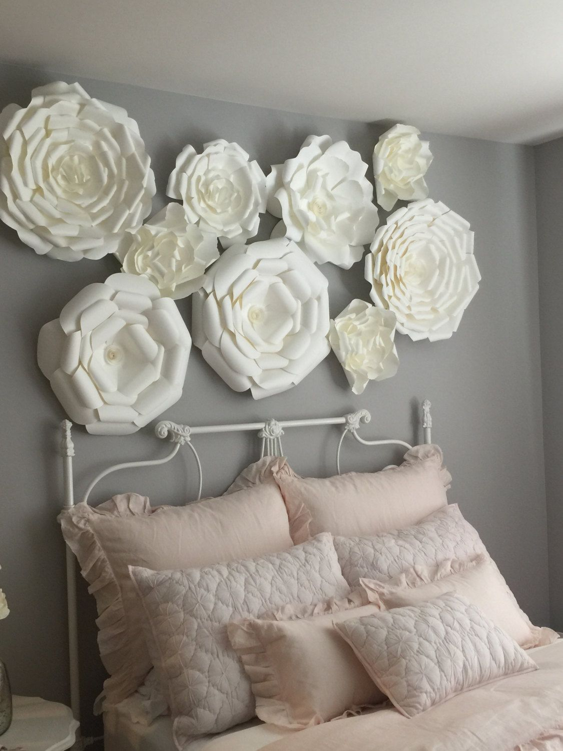 Paper Flower Backdrop Giant Flowers Wall Large Wedding Arch By CandyTreeBaltimore On Etsy