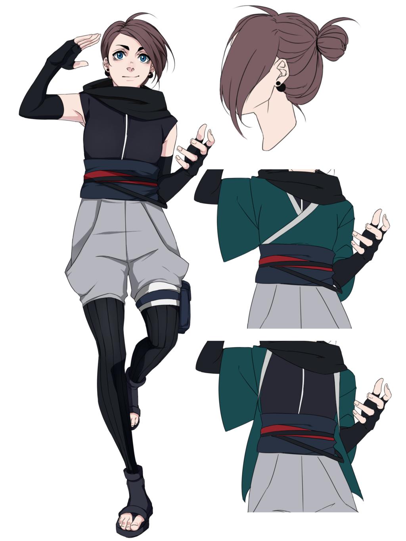Character Design Oc : Naruto oc kanoko by tricketwar pinterest