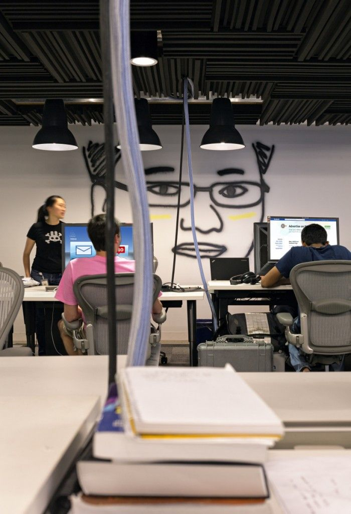 Office Tour: Inside Facebook's Menlo Park Headquarters | Office