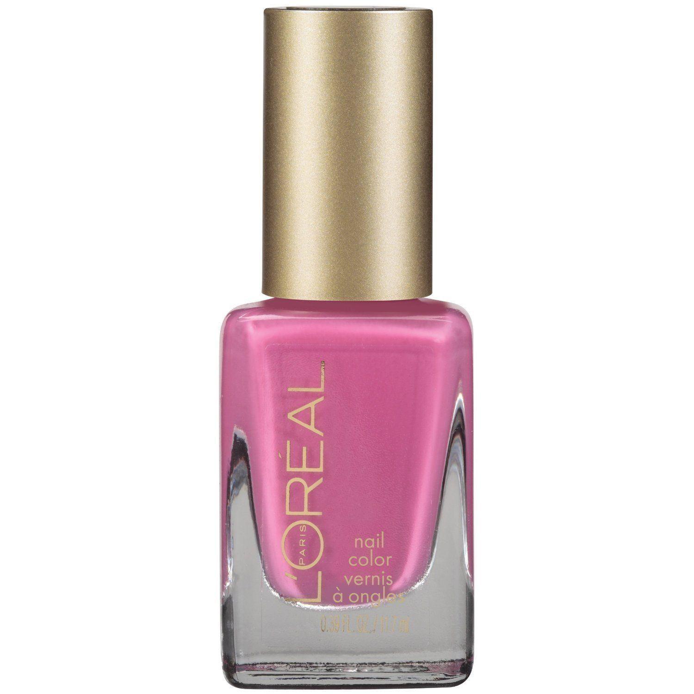 L'Oreal Colour Riche Nail Polish, #280 Pink Me Up - 0.39 Oz