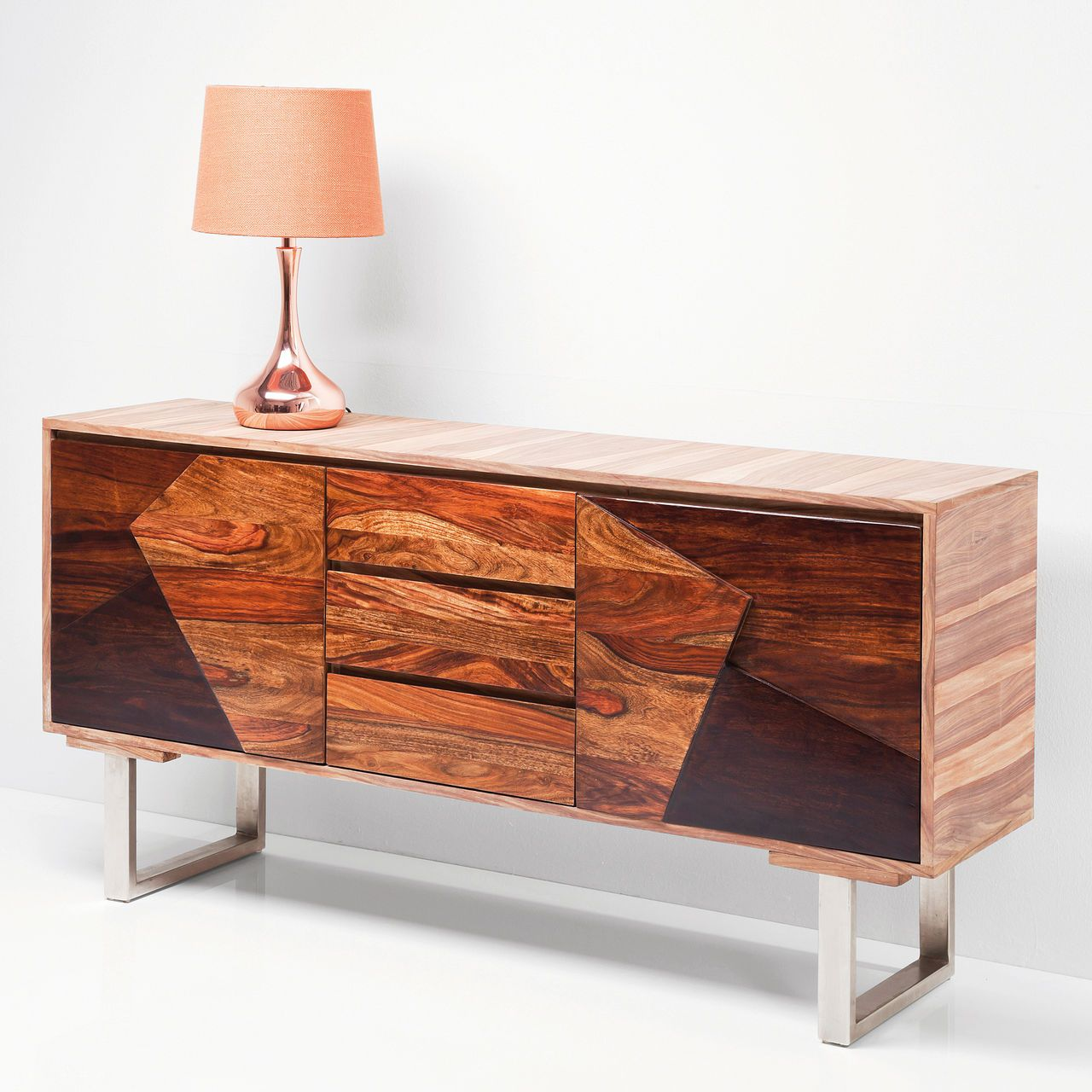 Sideboard Aus Sheesham Holz Muebles Los Originales