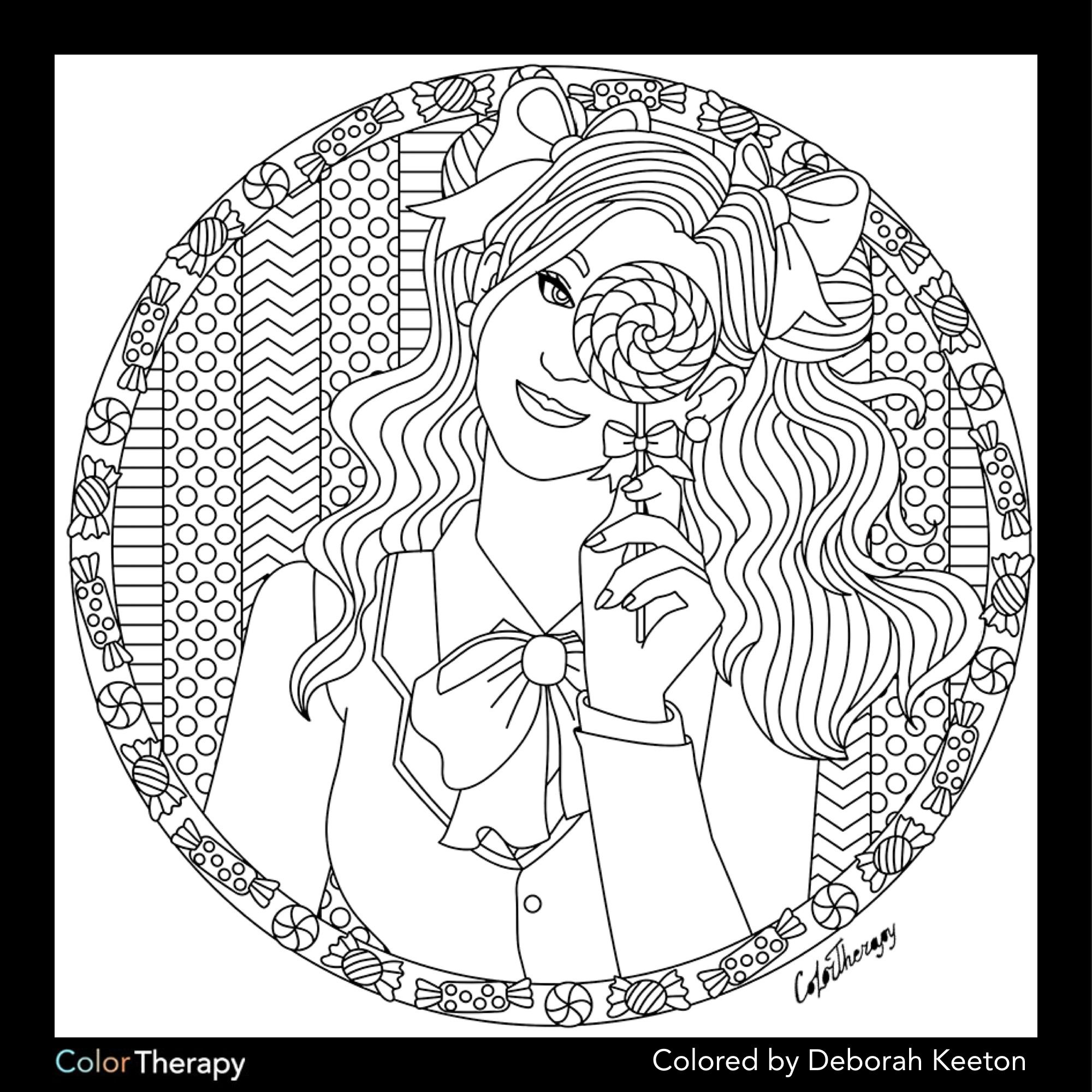 Mandala coloring pages art therapy recovery - Adult Coloring Pages Coloring Books Mandala Coloring My Wife Doodle Art Art Therapy Svg File Templates The Memory