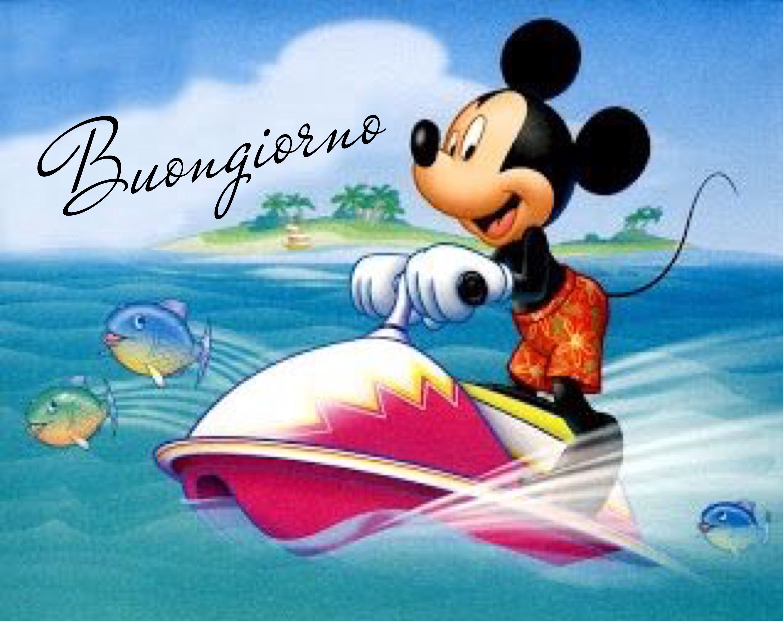 Buongiorno buon giorno italia buongiorno divertente topolino