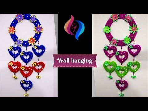 Wall Hanging Craft Ideas How To Make Craft Items From Waste