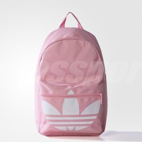 adidas Originals Backpack Classic Trefoil Pink White Womens