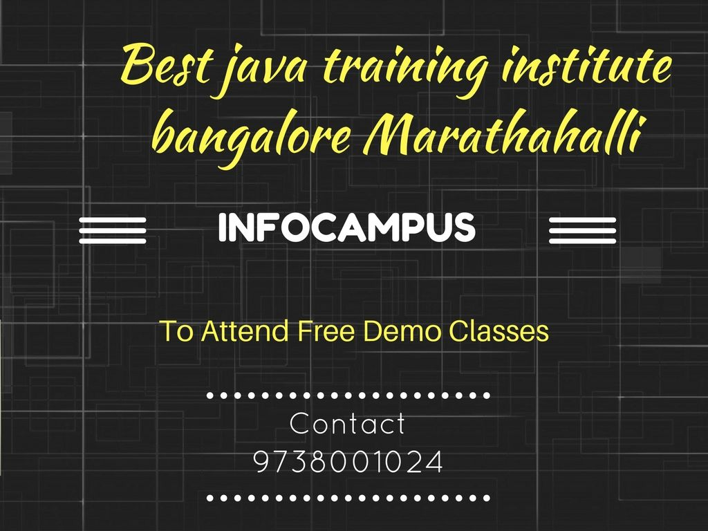 Pin By Infocampus Training Center On Java Course In