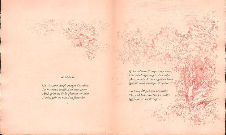 Paul Verlaine Allegorie Illustration Par Pierre Bonnard Carnet Parallelement