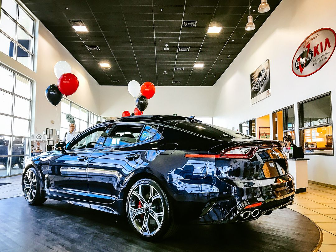 Valley Hi Kia >> The New Kia Stinger Is Here Stop By Our Showroom To