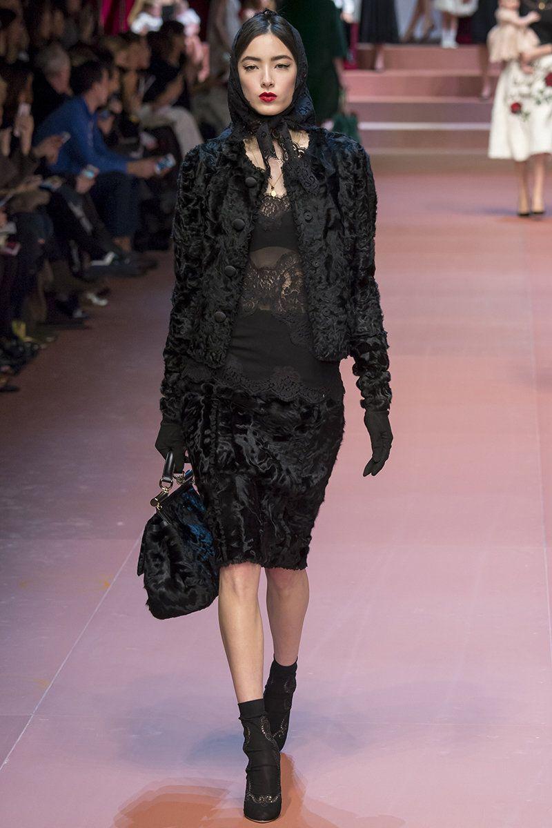Dolce   Gabbana does little old Italian widow 61dad682f81