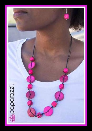 $5.00 necklace and earrings! shop.paparazziaccessories.com/32056