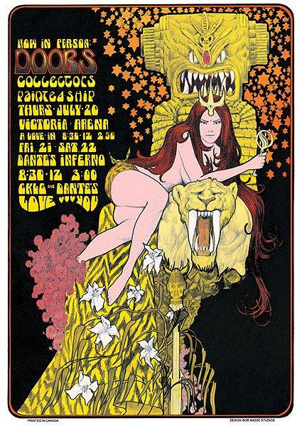 Doors .... 1960s concert poster, by ..... BOB MASSE